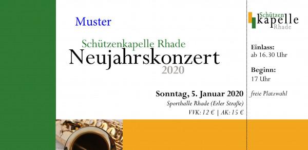 Neujahrskonzert, 5. Januar 2020