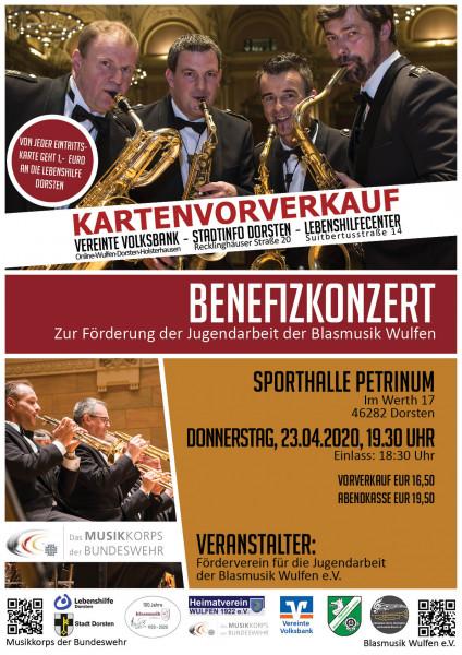 Benefizkonzert Musikkorps der Bundeswehr