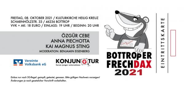 Bottroper FrechDax 2021 - 8. Oktober 2021