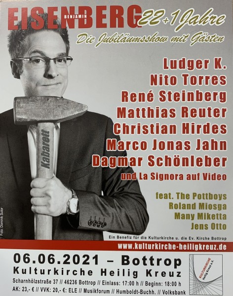 Eisenberg - 22 + 1 Jahre - Die Jubiläumsshow mit Gästen - 06.06.2021