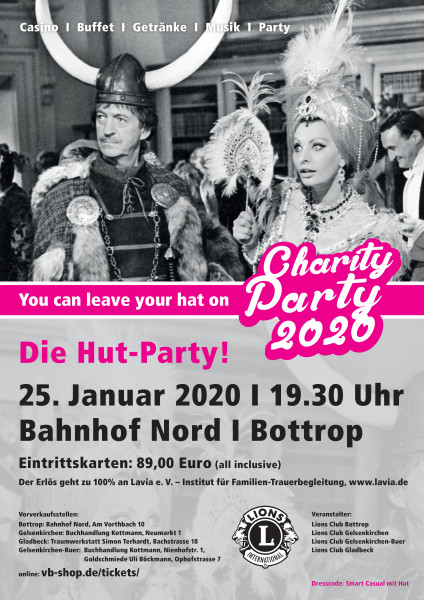 Charity Party 2020 - Die Hut-Party! - Lions Club