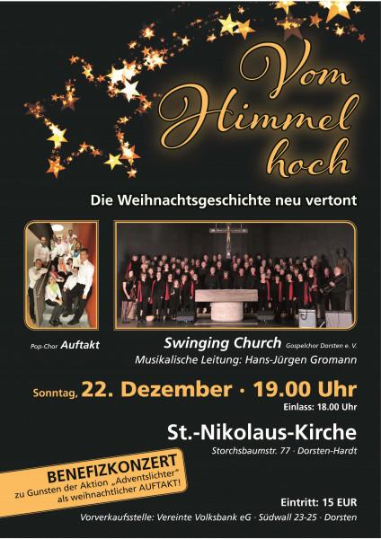 Benefizkonzert Swinging Church Gospelchor Dorsten e. V.
