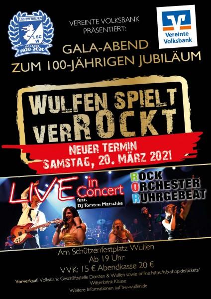 Wulfen spielt VerRockt! - Neuer Termin: 20. März 2021